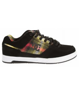 DC Amp TP Skate Shoes Black/Plaid