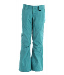 DC Anzere Snowboard Pants Lake Blue Space Dye