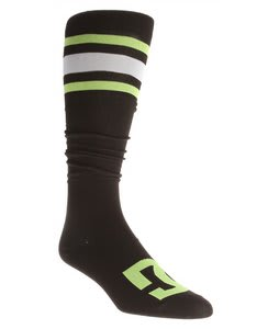 DC Apache Lite Snowboard Socks Black