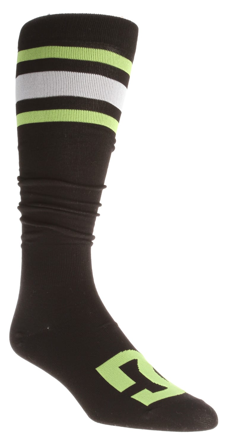 Shop for DC Apache Lite Snowboard Socks Black - Men's