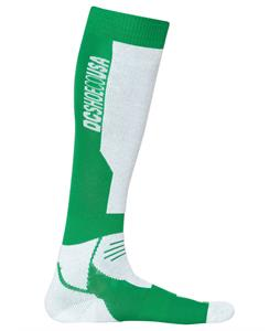 DC Apache Socks Bright Green