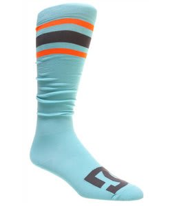 DC Apache Lite Snowboard Socks Blue Radiance