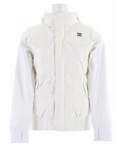 DC Arolla Snowboard Jacket White