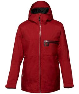 DC Axis Snowboard Jacket Rio Red