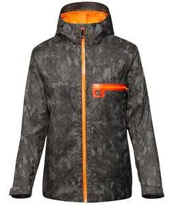 DC Axis Snowboard Jacket Treebark Grey