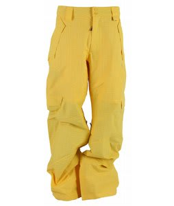 DC Baker Snowboard Pants Gold