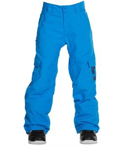 DC Banshee K Snowboard Pants Electric Blue Lemonade