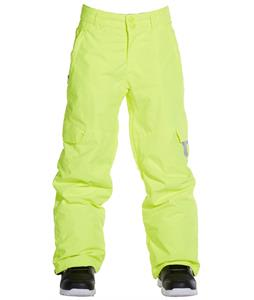 DC Banshee K Snowboard Pants Safety Yellow
