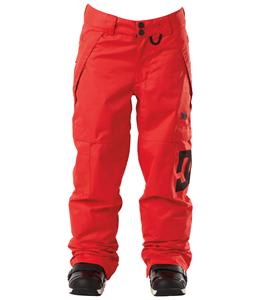 DC Banshee Snowboard Pants Athletic Red