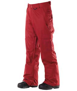 DC Banshee Snowboard Pants Biking Red