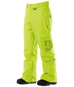 DC Banshee Snowboard Pants Lime