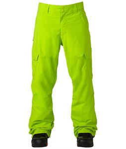 DC Banshee Snowboard Pants Lime Green