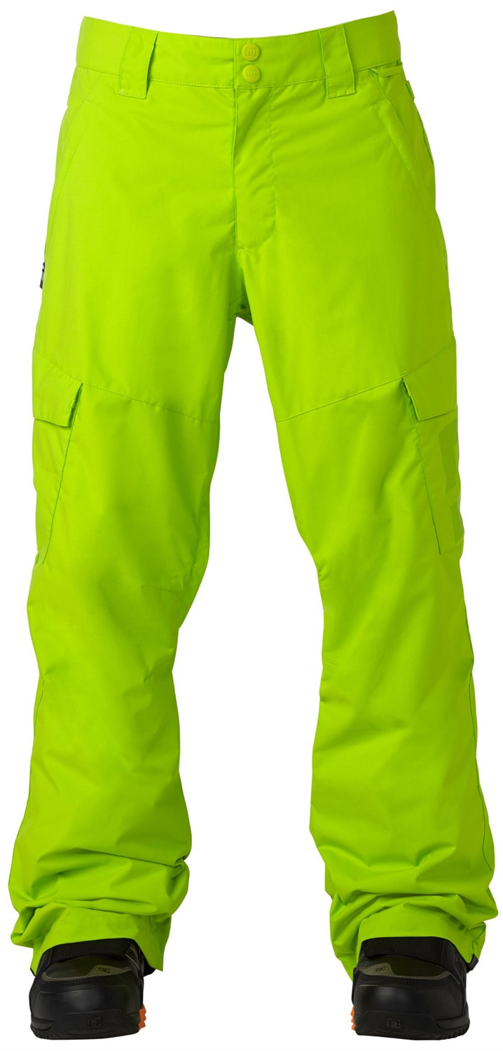 Lime Green Snowboard Pants