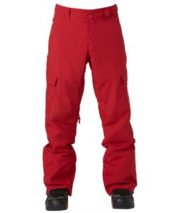 DC Banshee Snowboard Pants Rio Red