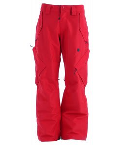 DC Bar Snowboard Pants Athletic Red