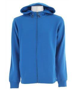 DC Basic Zip Hoodie Direct Blue
