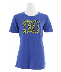 DC Bed Rock T-Shirt Blue Surf