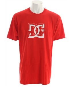 DC Big D T-Shirt Athletic Red