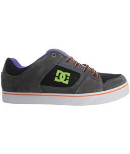 DC Blitz Skate Shoes Black/Battleship/Soft Lime