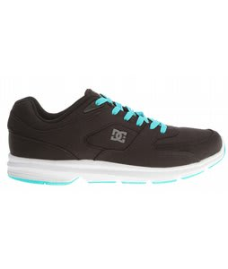 DC Boost TX Shoes Black/White/Turquoise