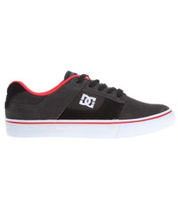 DC Bridge Skate Shoes Black/Dk Grey/Athletic Red