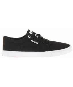 DC Bristol Canvas Shoes Black/White