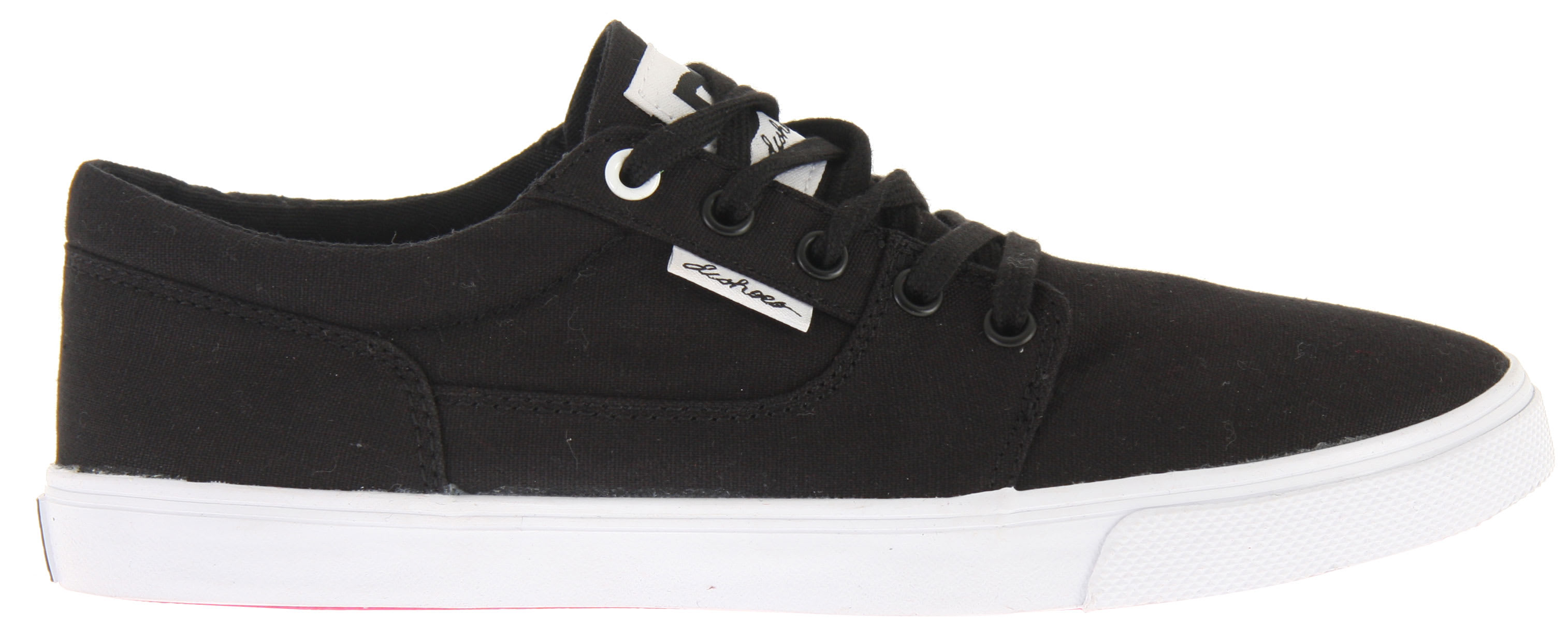 Shop for DC Bristol Canvas Shoes Black/White - Women's