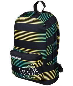 DC Bunker Print Backpack Black Stripe