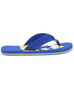 DC Central Sandals Royal/Yellow