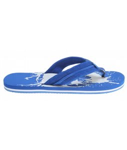 DC Central Sandals Royal Blue/White