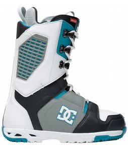 DC Ceptor Snowboard Boots White/Blue/Grey