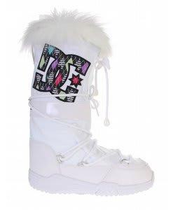 DC Chalet SE Boots White/Black/Argyle