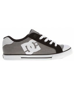 DC Chelsea Skate Shoes White/Black Basic