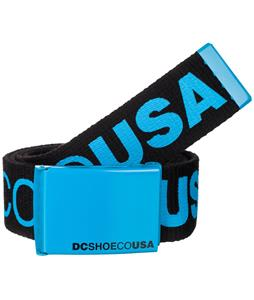 DC Chinook 5 Belt Black/Cyan