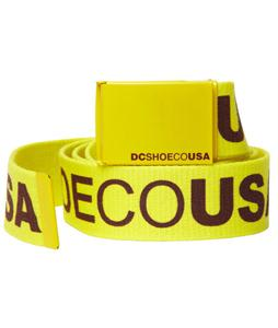 DC Chinook 5 Belt Fluorescent Yellow