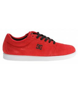 DC Chris Cole S Skate Shoes Athletic Red/White