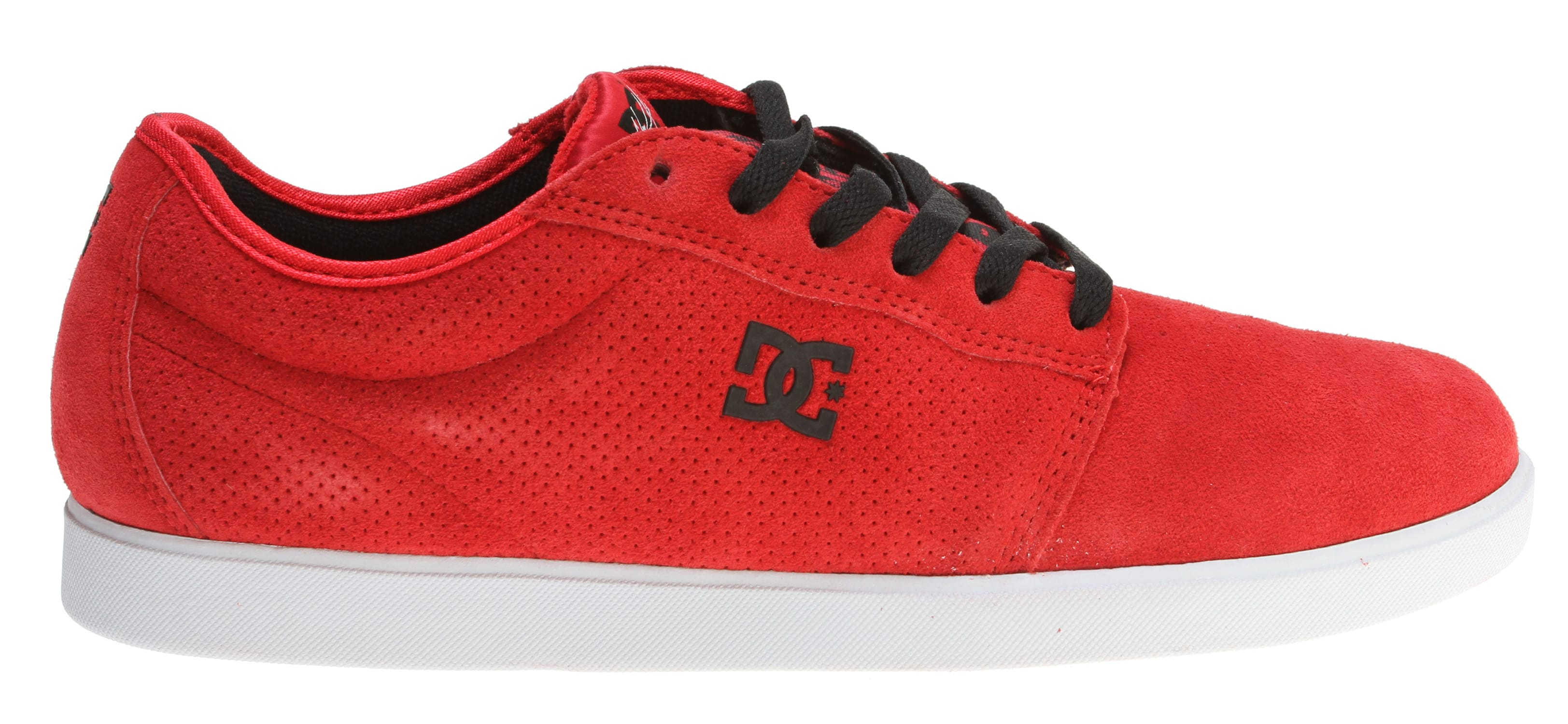Shop for DC Chris Cole S Skate Shoes Athletic Red/White - Men's