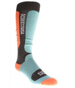 DC Cirque Snowboard Socks Hazard/Blue Radiance/Shadow