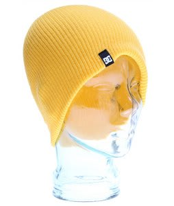 DC Clap Beanie Lemon Gold