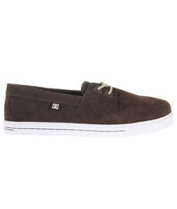 DC Club Shoes Dark Chocolate/White