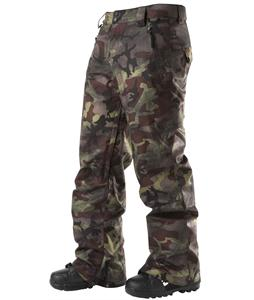 DC Code Snowboard Pants Camo