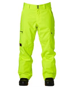 DC Code Snowboard Pants Safety Yellow