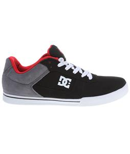 DC Cole Pro Skate Shoes Black/Battleship/Athletic Red