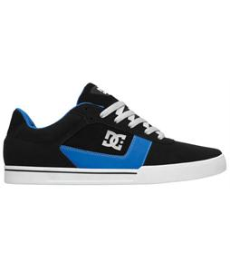 DC Cole Pro Skate Shoes Black/Royal/White