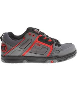 DVS Comanche Shoes Grey/Red Gunny Deegan