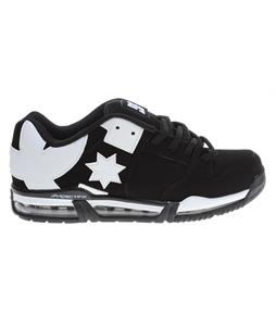 DC Command FX Skate Shoes Black/White/Black
