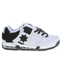 DC Command FX Skate Shoes White/Black