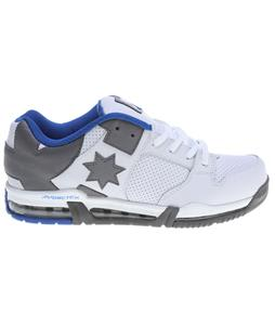 DC Command FX Skate Shoes White/Battleship/Royal