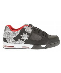 DC Command Skate Shoes Black/True Red