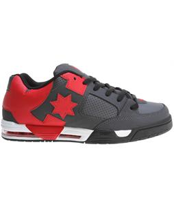DC Command Shoes Grey/Red